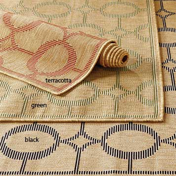 Polypropylene Rug / Arabesque Indoor/Outdoor Rug -- Orvis
