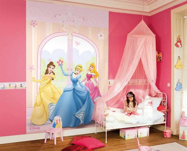 10 Adorable Princess Themed Girls Bedroom Ideas - Rilane