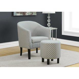 Chair 1/2 With Ottoman | Wayfair