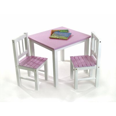 Harriet Bee Jody Kids' 3 Piece Table and Chair Set in 2018