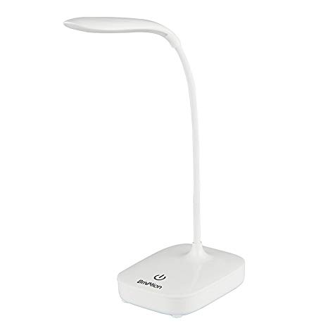 Brivation Dimmable LED Desk Lamp, 3 Dimming Levels, Eye-care, Touch