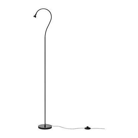 Ikea Jansjo Floor/Reading Lamp, Black - Led Floor Lamps For Reading