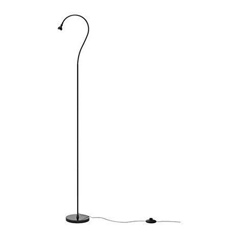 Ikea Jansjo Floor/Reading Lamp, Black - Led Floor Lamps For Reading