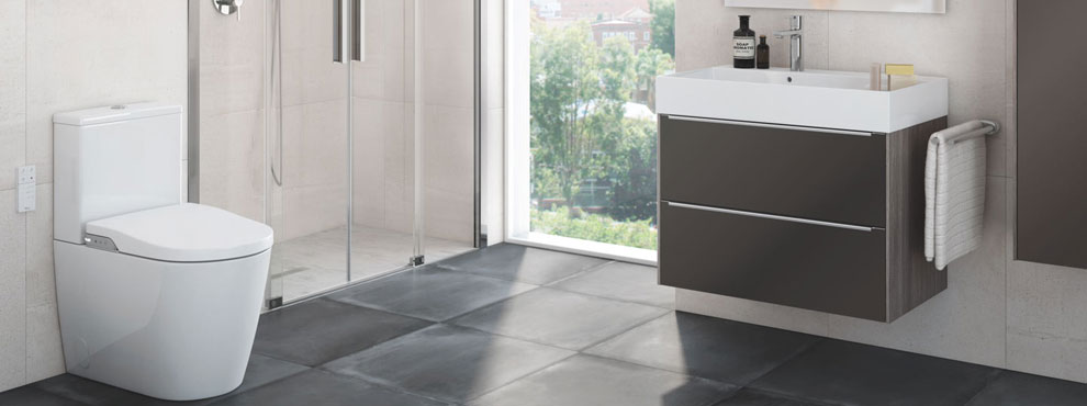 Roca Bathrooms - Tile Rack & Bathrooms Inc Swansea