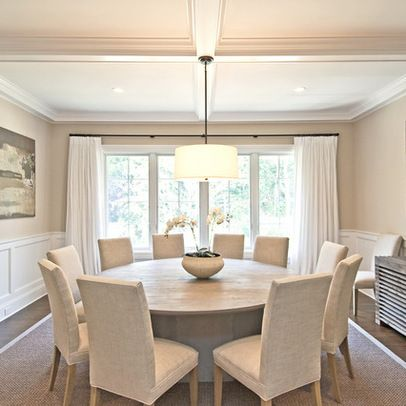 15 Stunning Round Dining Room Tables | HOUSE HUNTING | Dining room