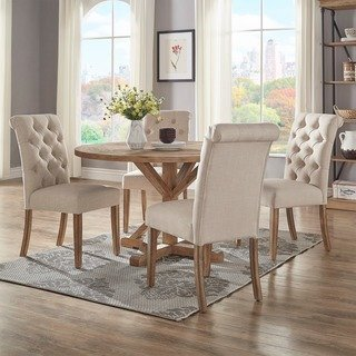 Buy Pedestal, Round Kitchen & Dining Room Tables Online at Overstock
