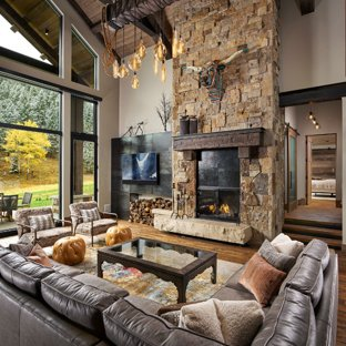 75 Most Popular Rustic Living Room Design Ideas for 2019 - Stylish