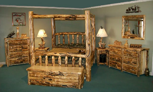 Rustic Log furniture in Beaver, Utah | Flooring & Furniture 4 Less