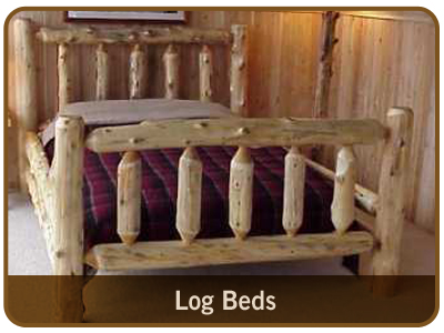 Indoor & Outdoor Rustic Log Furniture from Great Lakes Rustics