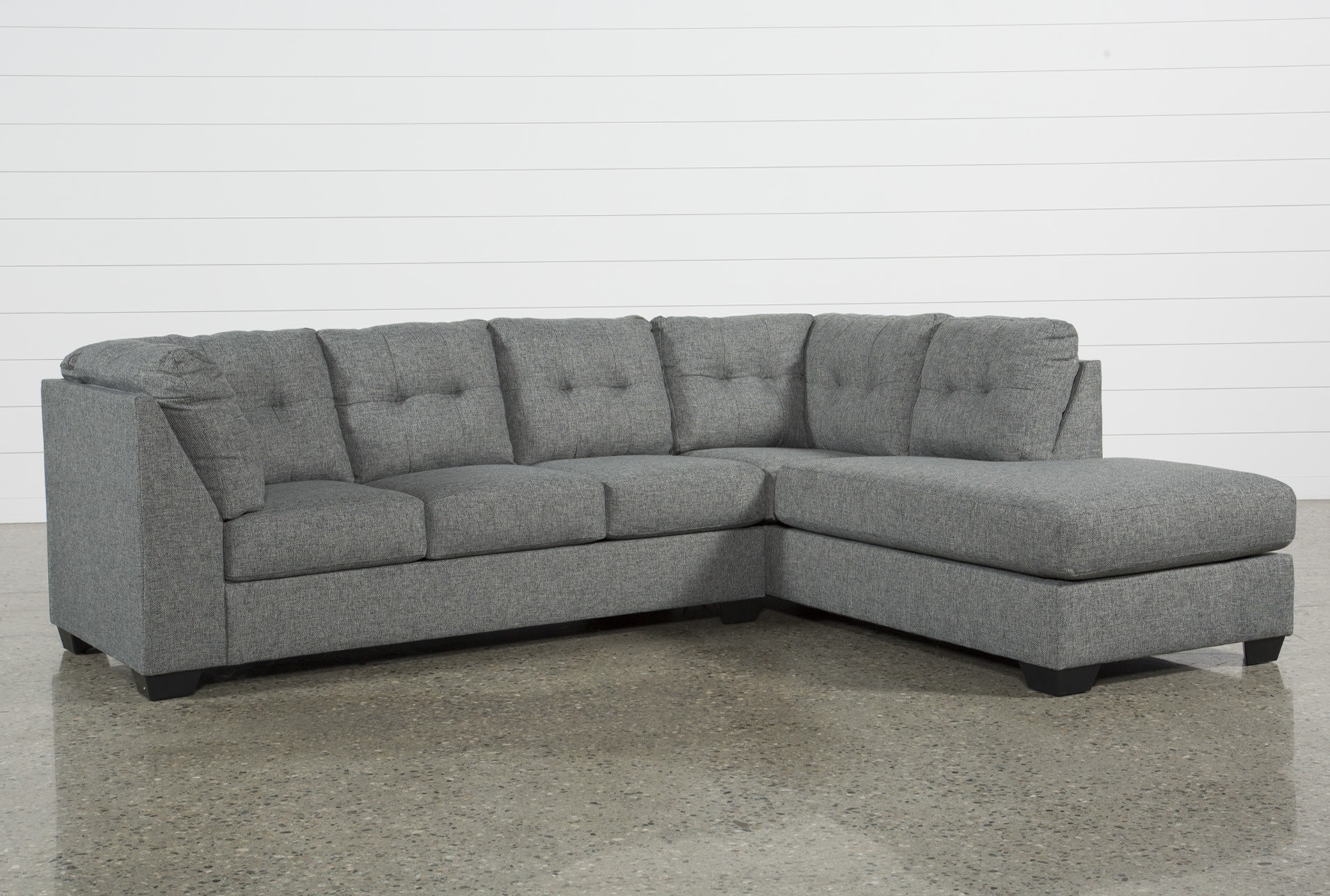 Arrowmask 2 Piece Sectional W/Sleeper & Raf Chaise | Living Spaces