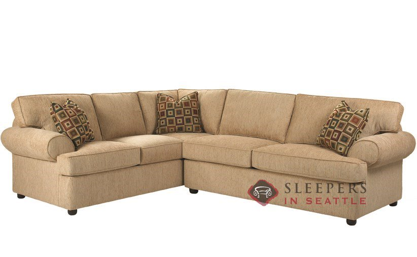 Customize and Personalize Tacoma True Sectional Fabric Sofa by Savvy