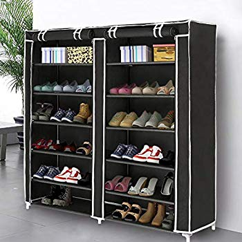 Amazon.com: Blissun Shoe Rack Shoe Storage Organizer Cabinet Tower