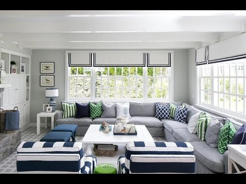 Gray Living Room Room Design Ideas 2019 - YouTube
