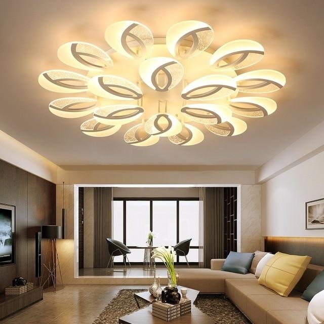 Modern LED ceiling Chandelier lighting dining room plafond avize