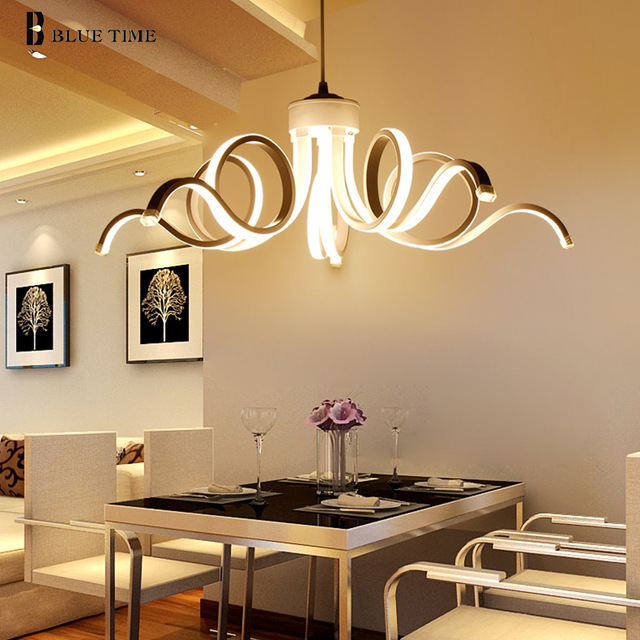 Led Modern Chandelier Lighting Novelty Lustre Lamparas Colgantes