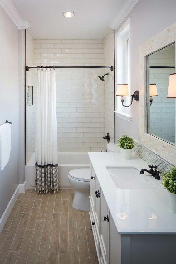 small bathroom makeover u2026 | when i own a house | Basement Bathroom