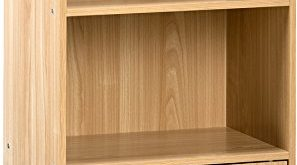 Amazon.com: OneSpace 50-6522OK Small Modern Bookshelf Oak: Kitchen