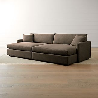 Small Sectional Sofas | Crate and Barrel