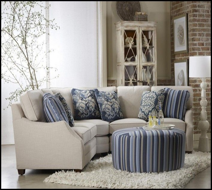 Small Scale Sectional Sofa | Awesome Stuff | Small sectional sofa