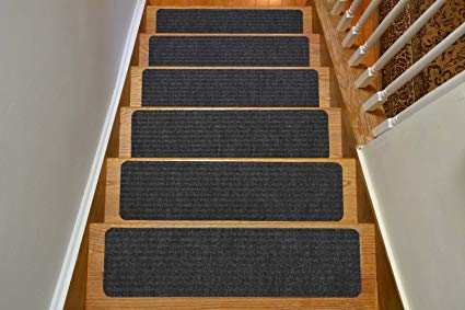 Stair Treads Collection Indoor Skid Slip Resistant Carpet Stair