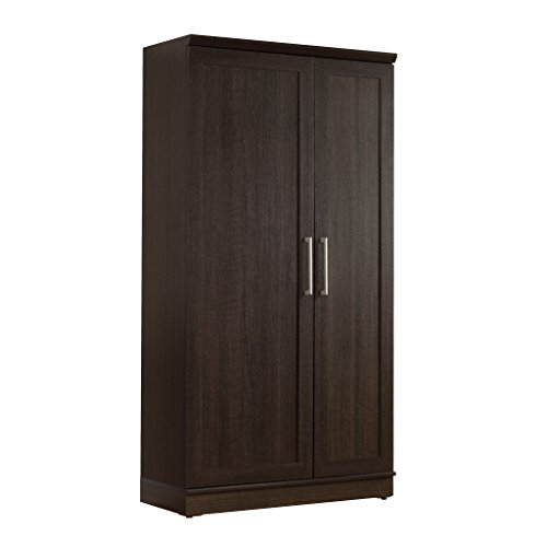 Amazon.com: Sauder Double Door Storage Cabinet, Large, Dakota Oak