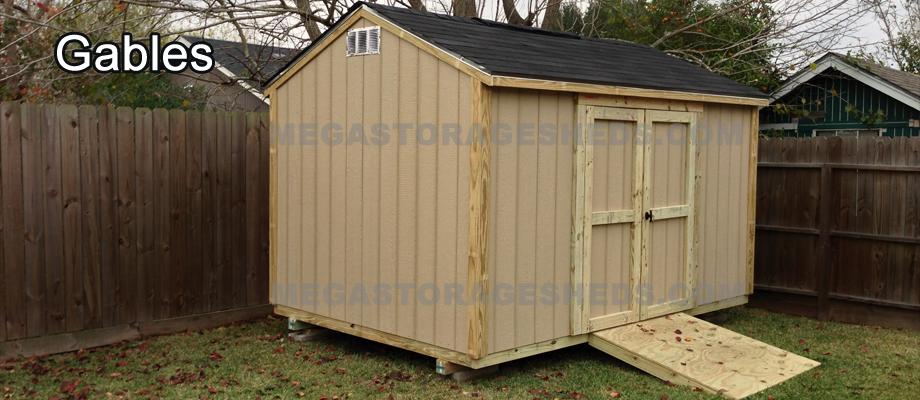 Storage Shed Houston - Mega Storage Sheds