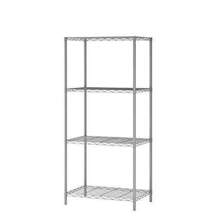 Amazon.com: Homebi 4-Tier Wire Shelving 4 Shelves Unit Metal Storage