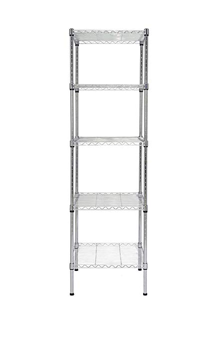 Amazon.com: Finnhomy Heavy Duty 5 Tier Wire Shelving Unit NSF