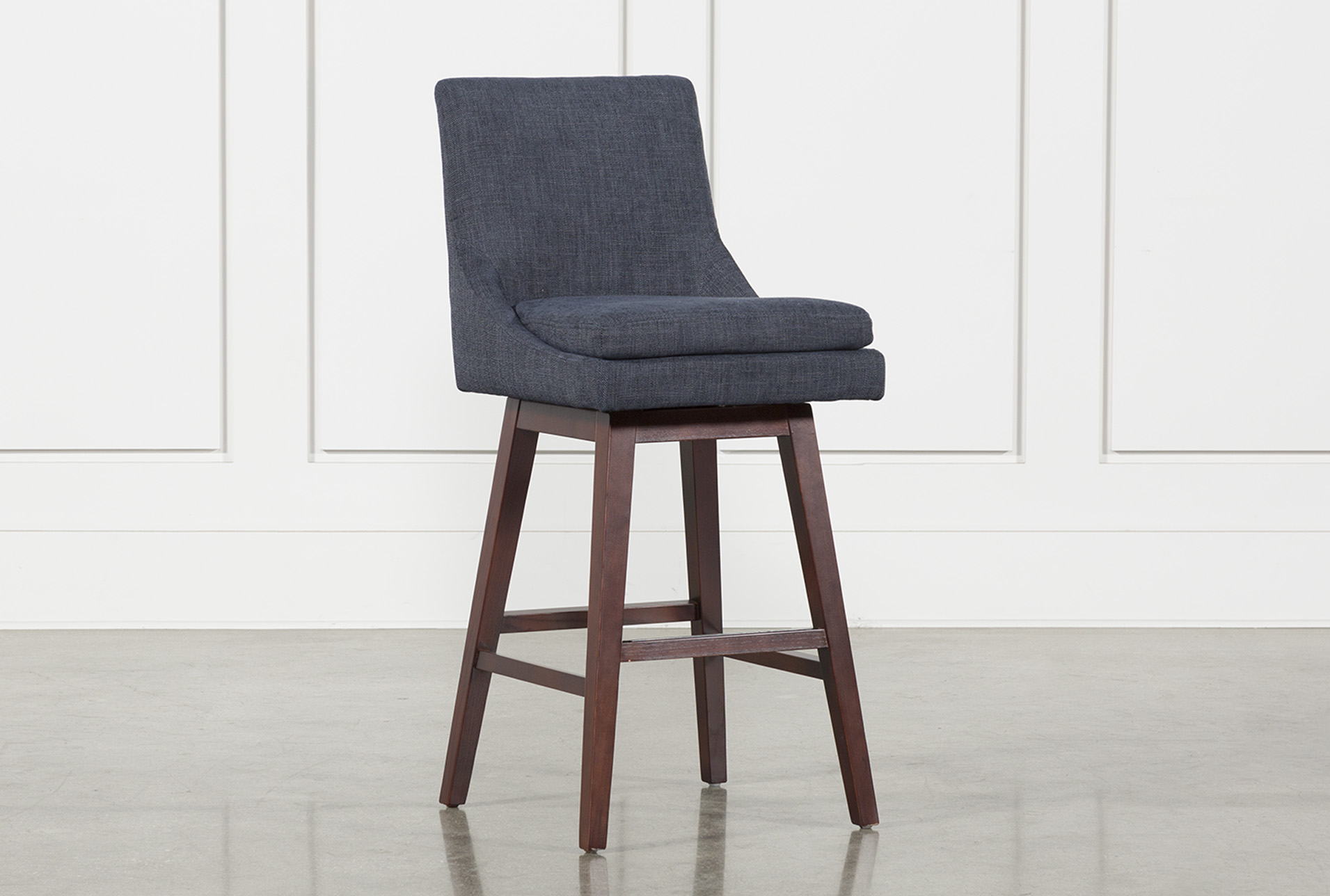 Noma Swivel 30 Inch Barstool | Living Spaces