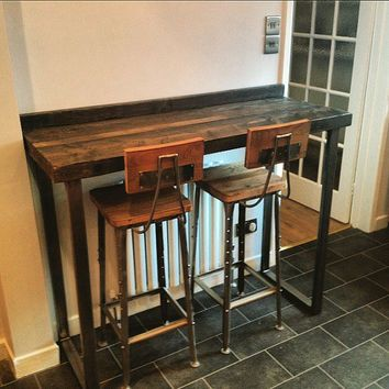 36 in height diy counter bar table - Google Search u2026 | kitchen | Bar tu2026
