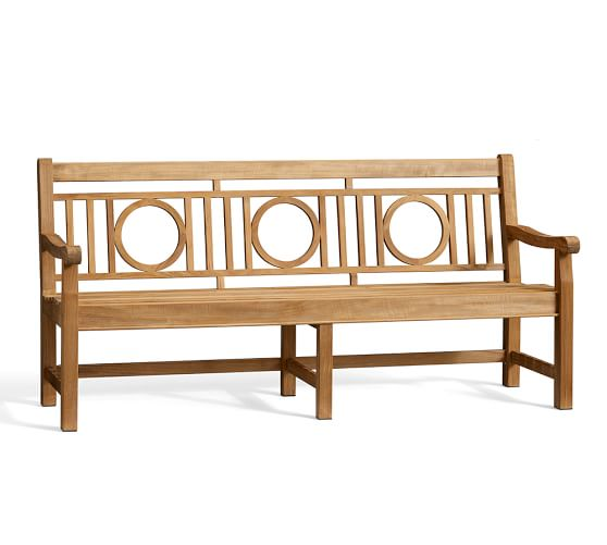 Teak Garden Bench | Pottery Barn