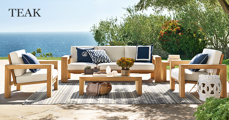 Teak Outdoor Furniture | Williams Sonoma