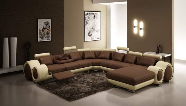 Online Shop Modern living room large corner sofa U shaped sectional