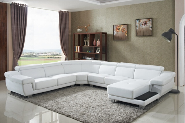Sofa set living room furniture with large corner for living room