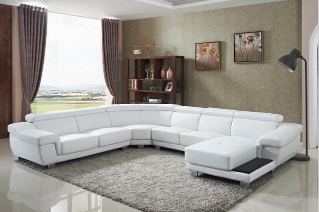 Sofa set living room furniture with large corner for living room