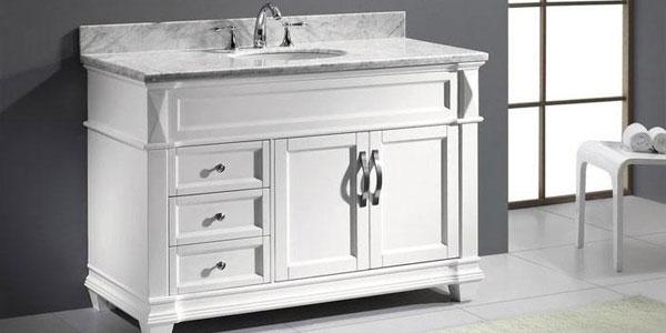 White Bathroom Vanity u2013 A Choice of Class u2013 darbylanefurniture.com