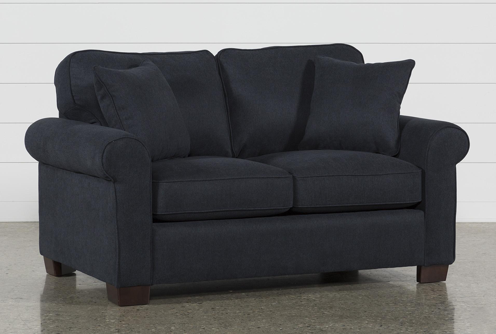 Margot Denim Twin Sofa Sleeper | Living Spaces