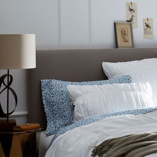 Simple Upholstered Headboard | west elm