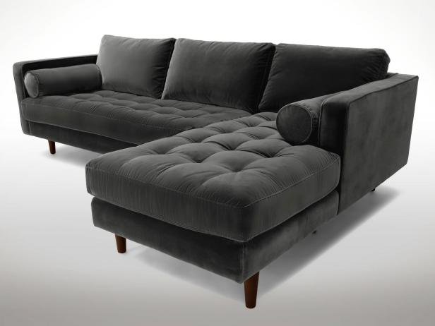 11 of the Best Velvet Sofas to Decorate With   HGTV's Decorating