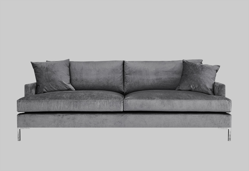 DEVON velvet sofa | Shop Furniture | Layered