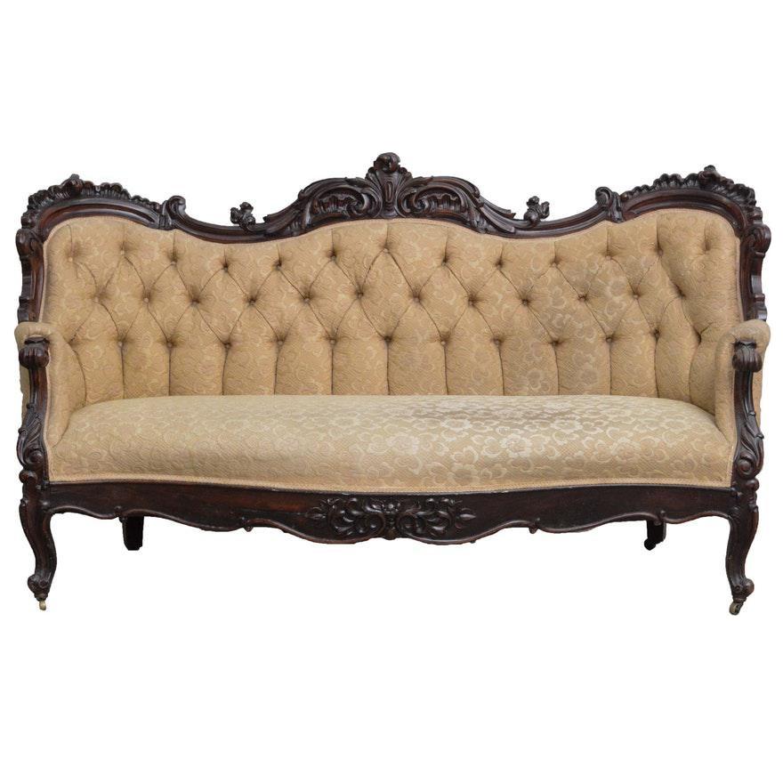 Vintage & Used Victorian Sofas | Chairish