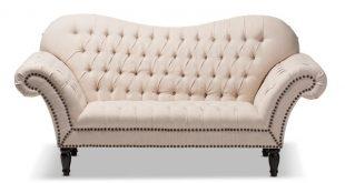 Wholesale Interiors Baxton Studio Bostwick Classic Victorian Sofa