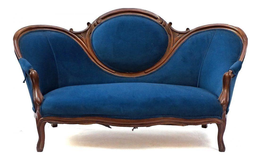 19th Century Antique Victorian Sofa | Chairish