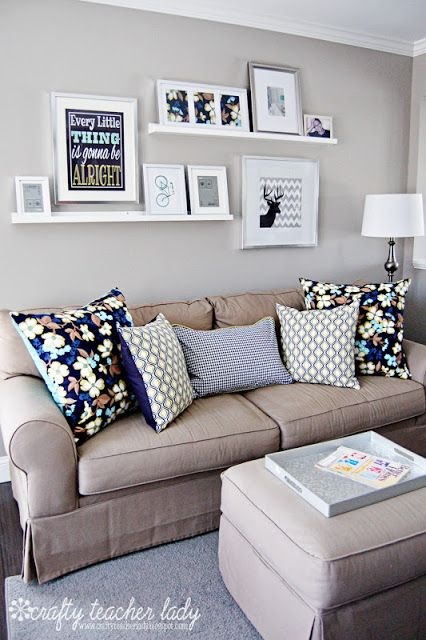 IDEAS for Small Living Spaces | For the Home | Home, Living room