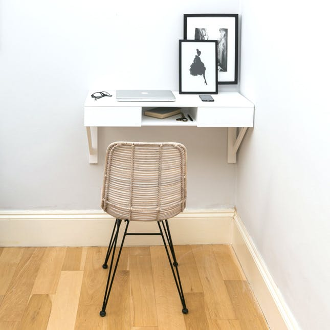 21 Space-Saving Wall-Mounted Desks to Buy or DIY | Brit + Co