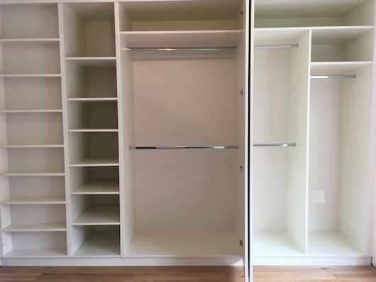 fitted wardrobe ideas and prices in Dublin | Virtue Design
