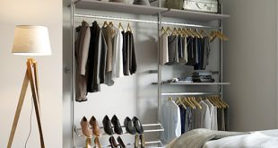 Fitted wardrobe ideas storage colours and styles | Spaceslide
