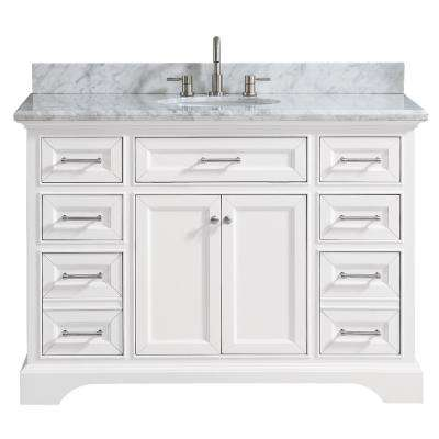 White - Bathroom Vanities - Bath - The Home Depot