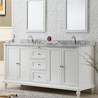 Buy White Bathroom Vanities & Vanity Cabinets Online at Overstock