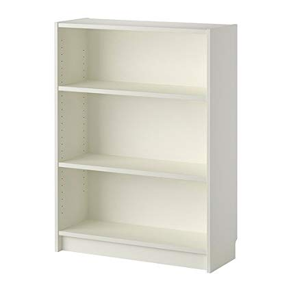 Amazon.com: Ikea White Bookcase 826.201126.1818: Kitchen & Dining